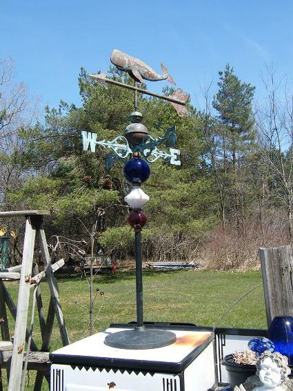 Barb Buckley's decorative weather vane