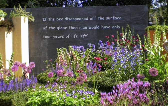 Chelsea Flower Show exhibit Bee Garden