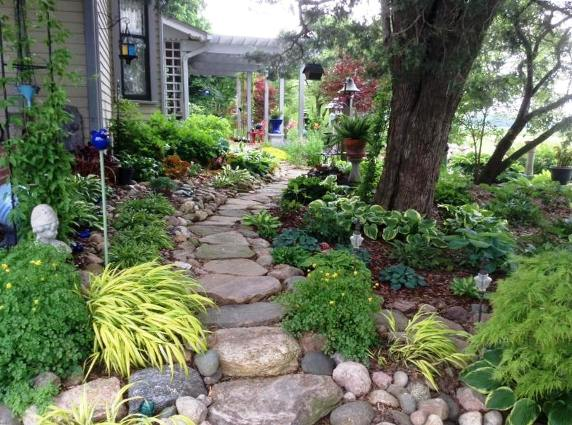 Constance Ann McAlpin's garden