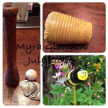 Myra Glandon's bobbin bee