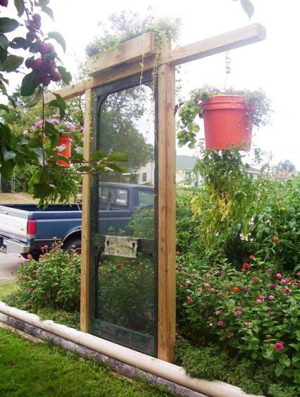 Maggie Ziemer says, 'My Garden door!'