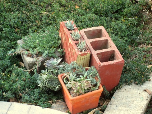 Sue Langley's Three holed brick- roadside treasure