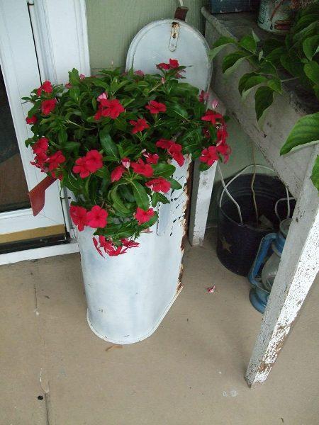Post A Mailbox In The Garden Flea Market Gardening