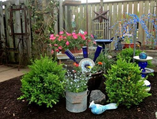 Garden Art Ideas tire recycling ideas 22 animal shaped garden decorations Glittering Beaded Garden Sparklers Garden Art Ideas