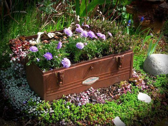 Frana Blaylock's planter box