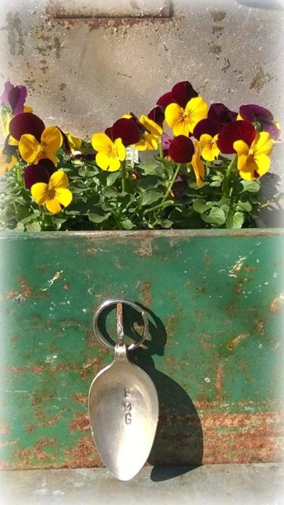 Julie Brown's planter box