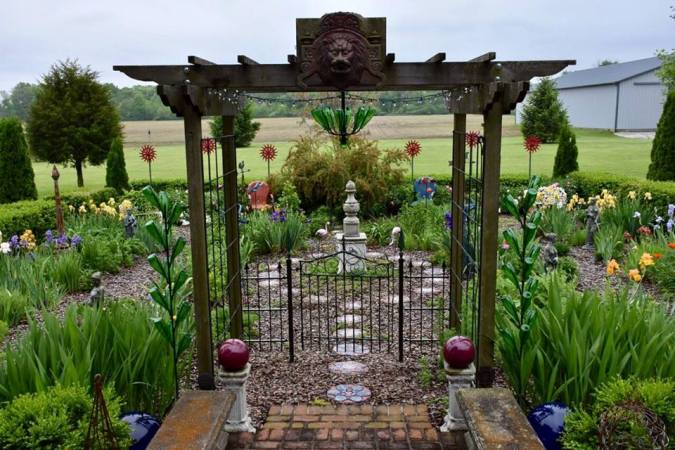 """Constance says, """"Finished gate,..I love how it looks!"""""""