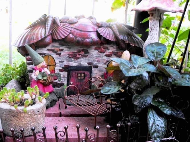 Handmade Fairy Cottages For Miniature Gardens Flea