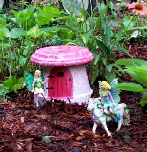 Handmade Fairy Cottages For Miniature Gardens Flea